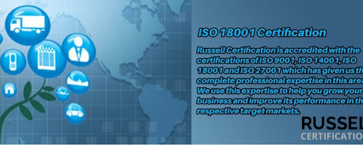 certifications of ISO 18001