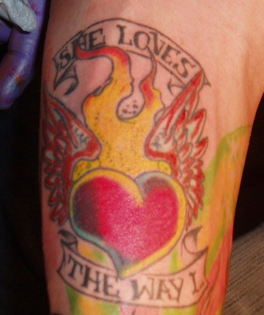 Heart Tattoo Design Picture