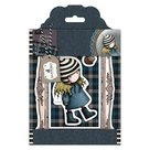 GOR907122 Gorjuss The Friendly Hedgehog rubber stempel