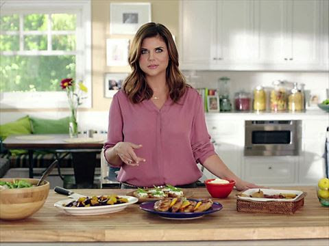 Dinner at Tiffanni's - Tiffani Thiessen