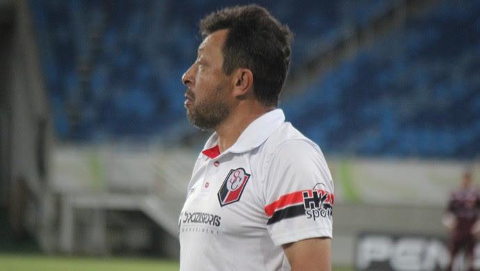 Lorival Santos técnico Santa Cruz de Natal (Foto: Diego Simonetti/Santa Cruz)