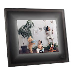 "Aura 9.7"" HD Display Digital Picture Frame with WiFi, Gray"