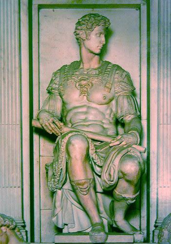 Duke of Nemours, Michelangelo Buonarroti, Capelle medicce, Sacrestia Nuova, San Lorenzo, Firenze _ 0293 _ 500