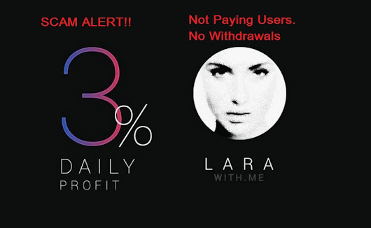 Lara With Me Telegram Bot Stopped Paying Users; Scam Alert
