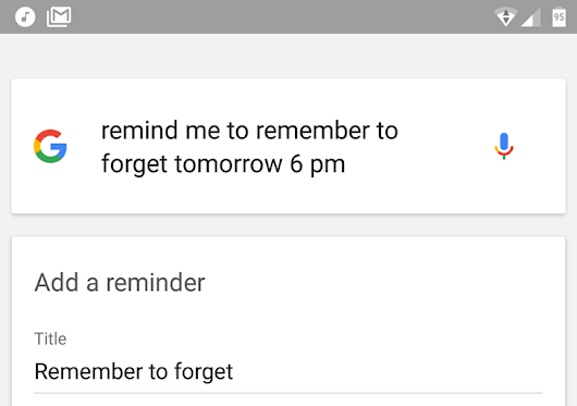 Google Now's reminder system gets a speedy interface makeover