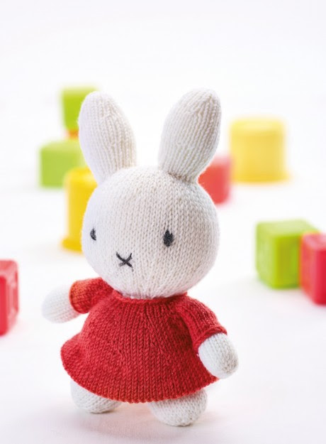 Miffy - Free Knitting Patterns - Children - Let's Knit Magazine
