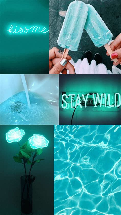 turquoise aesthetic wallpapers top  turquoise