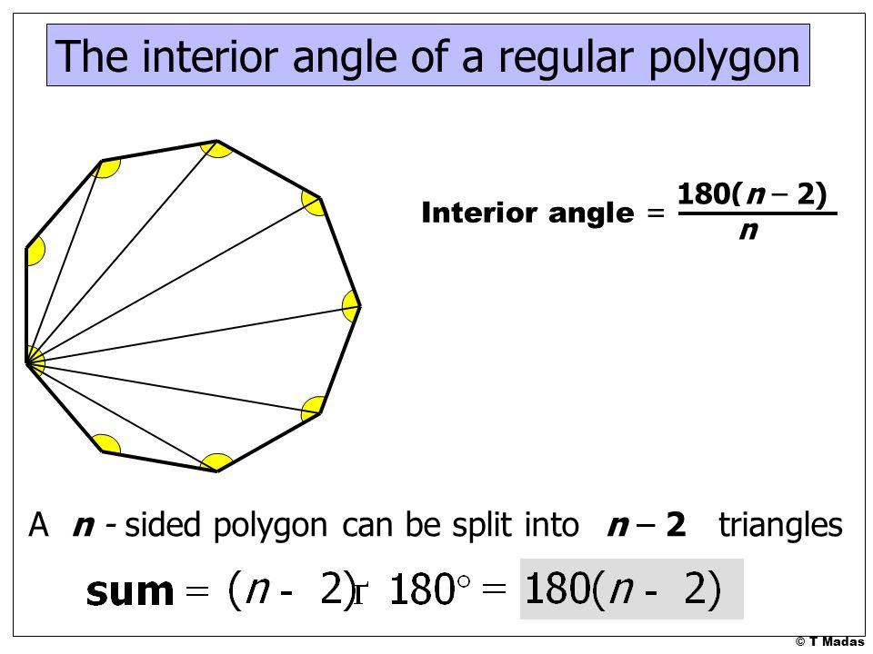 The+interior+angle+of+a+regular+polygon