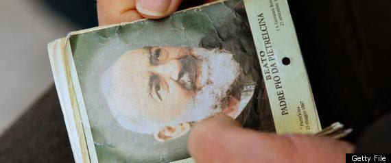 Padre Pio Stigmata Wounds