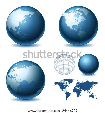 world map vector png. the world map globe.