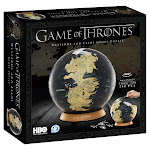 """Game of Thrones 9"""" Globe 3D Puzzle of Westeros"""