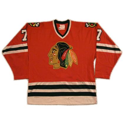 1980-81 Chicago Black Hawks jersey,1980-81 Chicago Black Hawks jersey