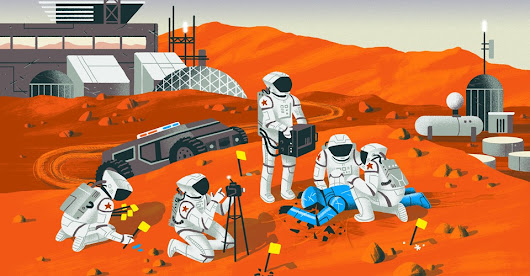 How Will Police Solve Murders on Mars?
