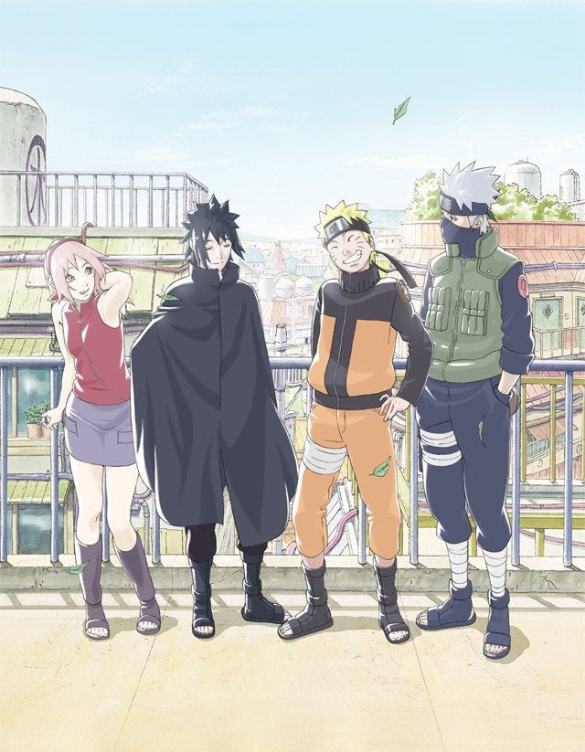 Naruto Reveals New Post War Team 7 Artwork