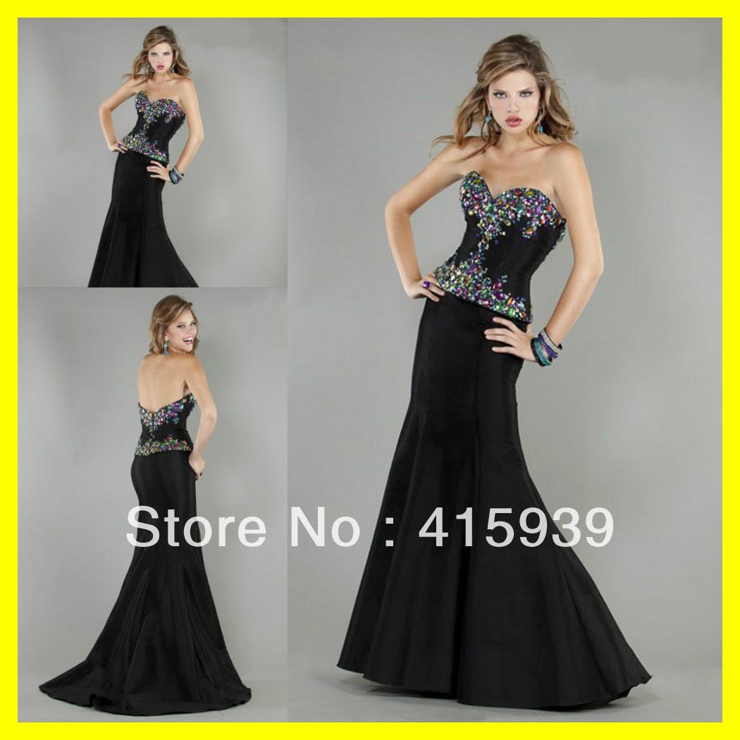 Black evening dress hire