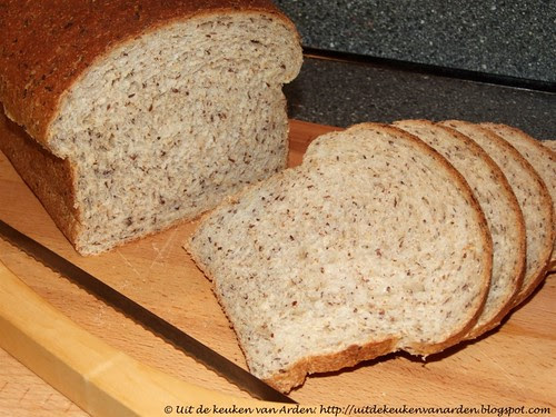 Golden Honey Oat Bread