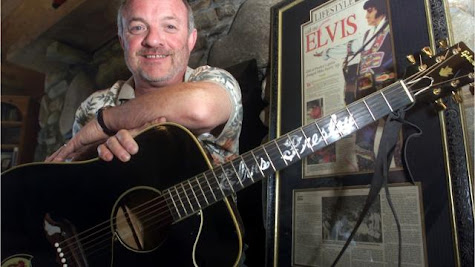 Elvis Presley guitar, owned by Asheville man, has been sold?