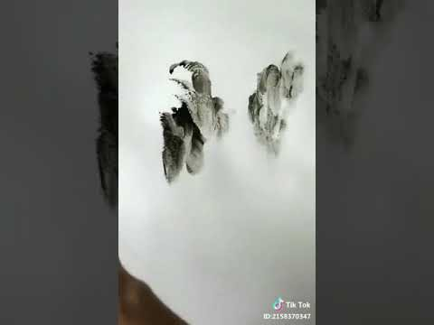 Found amazing hand drawing in Tik Tok