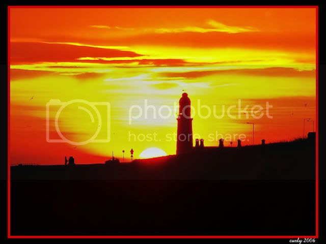 Souter Lighthouse, South Shields at dawn
