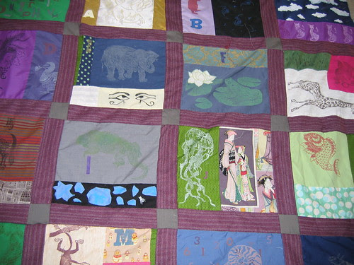Big picture of quilt progress