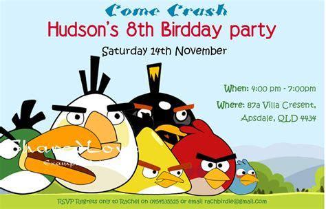 Angry Bird Invitations Templates Ideas : diy angry birds