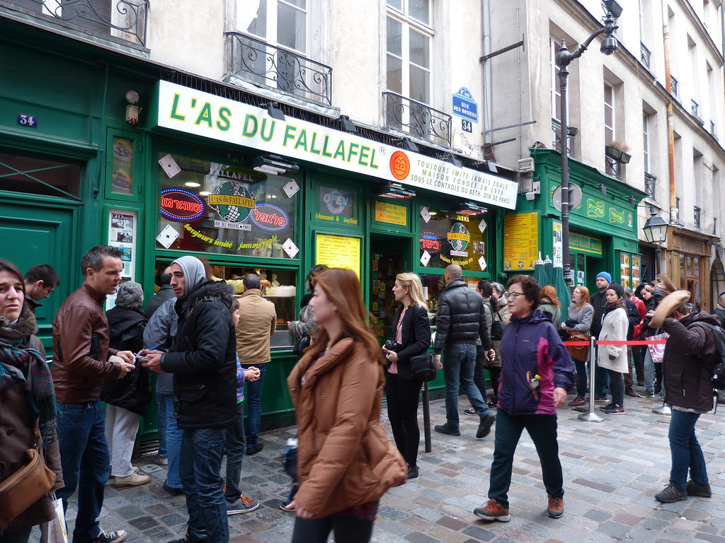 L'as du Falafel, Rue des Rosiers, Paris