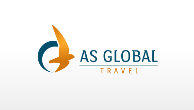 a financially strong, debt-free travel agencies company with over 16 years of success logo design