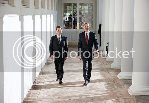 Hu and Obama