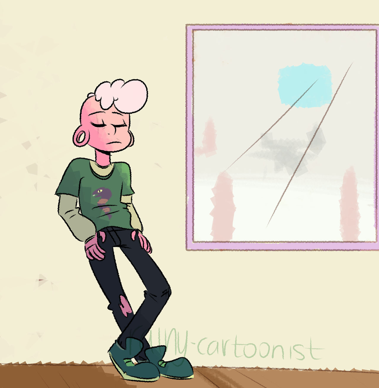 I want Lars to yell and make portals