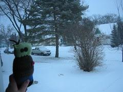 Snowy Morning in Winnipeg
