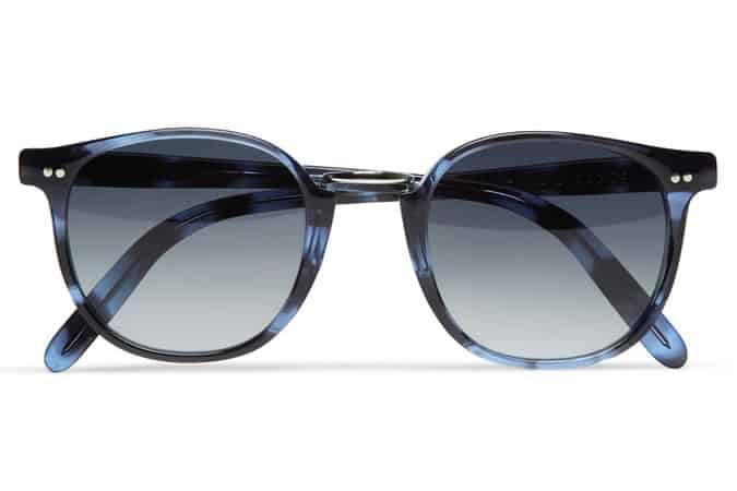Cutler And Gross D-Frame Acetate Sunglasses