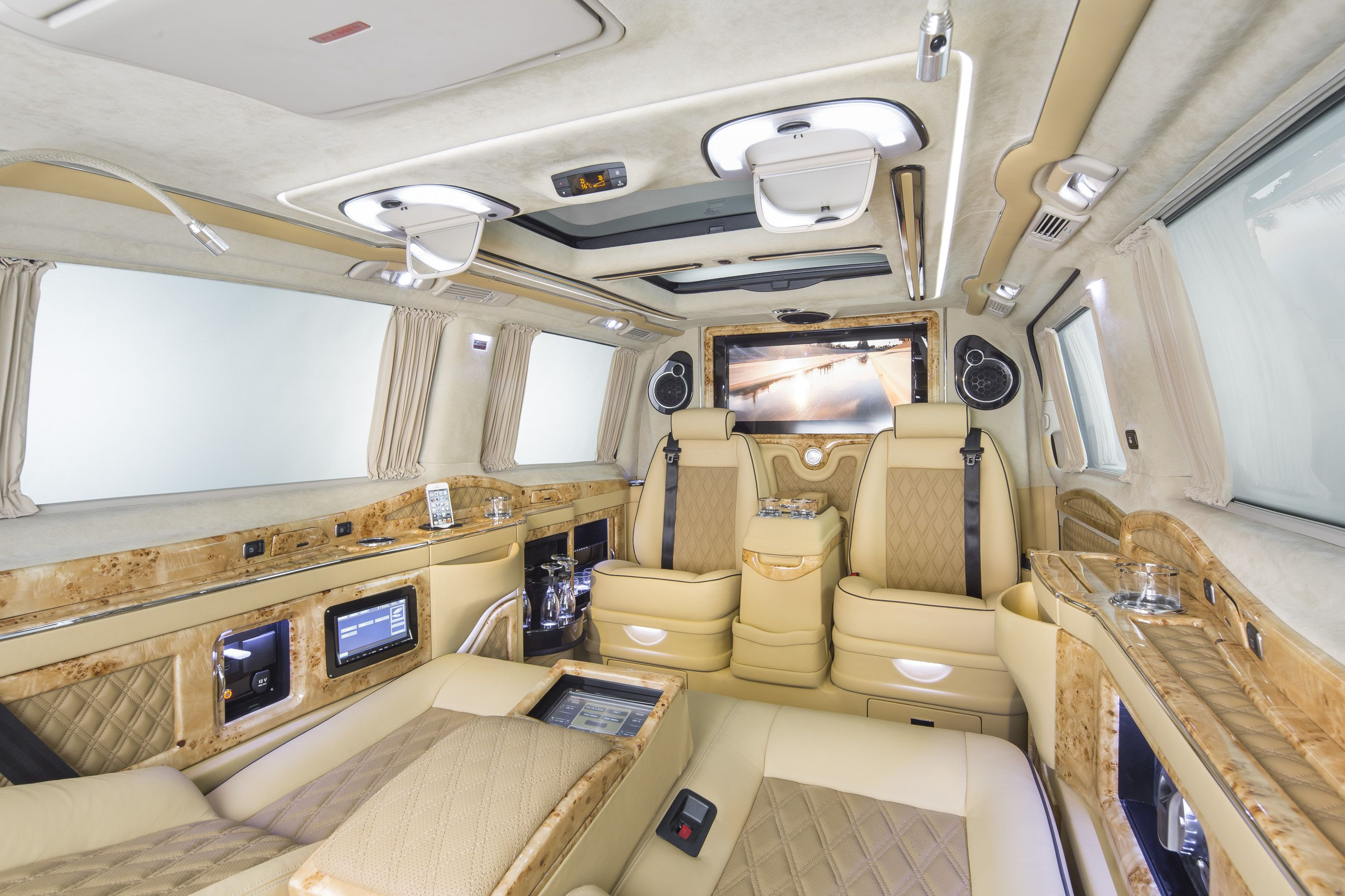 Mercedes Luxury Van Price