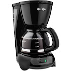 Mr. Coffee TF5 4-Cup Coffee Maker - Black