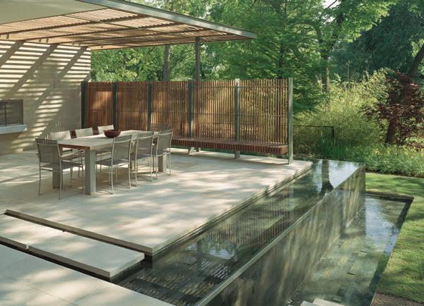 Water Features | Modern Outdoors | Trendir