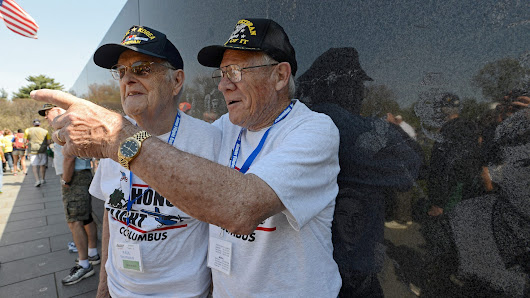 Honor Flight takes locals on flight to remember