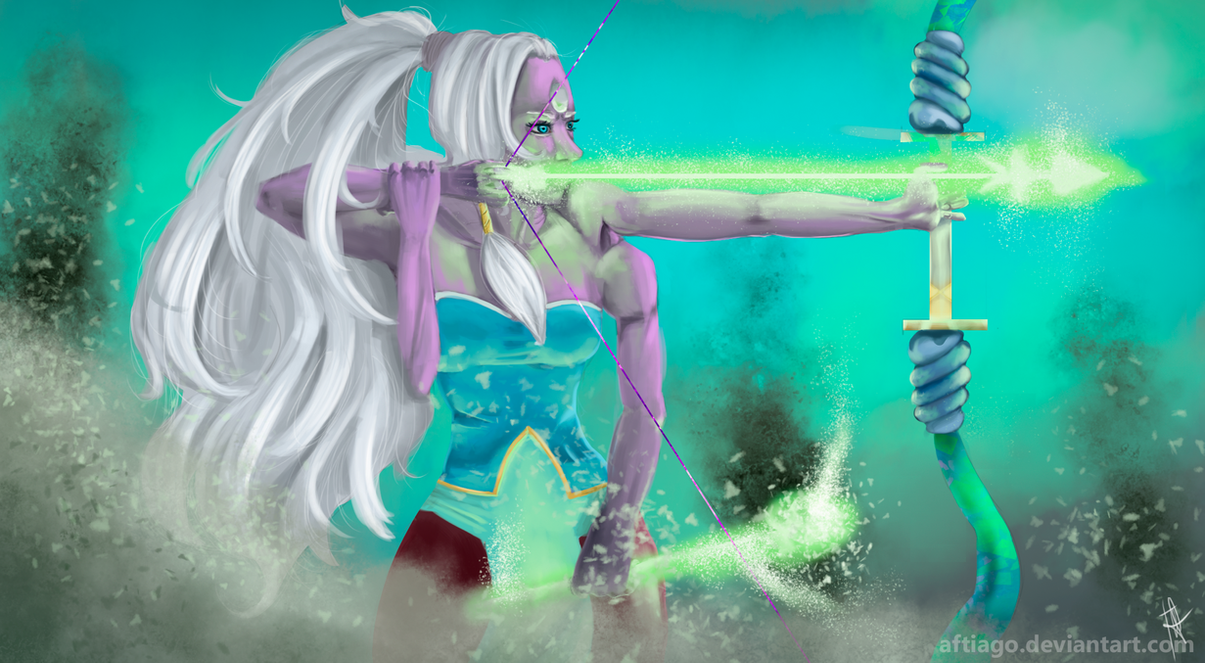 I've Always wondered how was the gem's War. Since Opal's one of my favorite fusions, here we go.