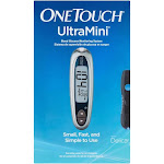 OneTouch UltraMini Blood Glucose Monitoring System, Silver Moon