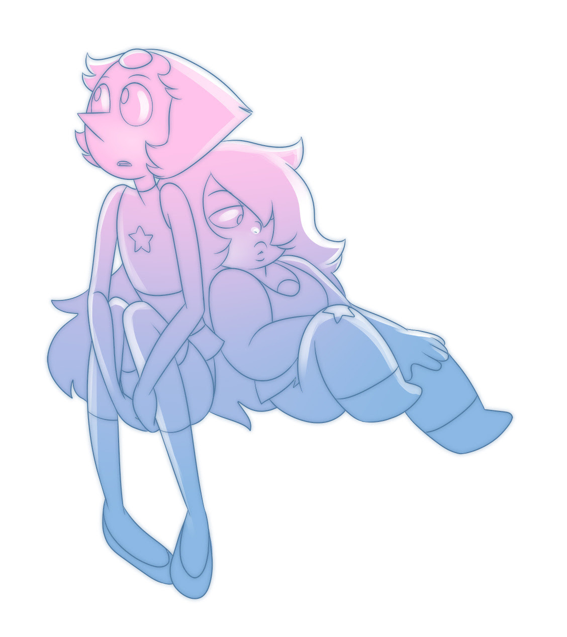 Pearlmethyst week 3: Free day Just chillin'. I'm a day behind! @annadesu