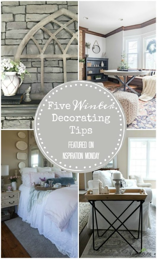 Winter Decorating Tips - Our Southern Home