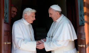 Ex-pope Benedict says God told him to resign during 'mystical experience'