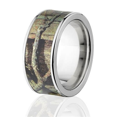 Camo Rings, Mens Camo Wedding Bands, Licensed Mossy Oak