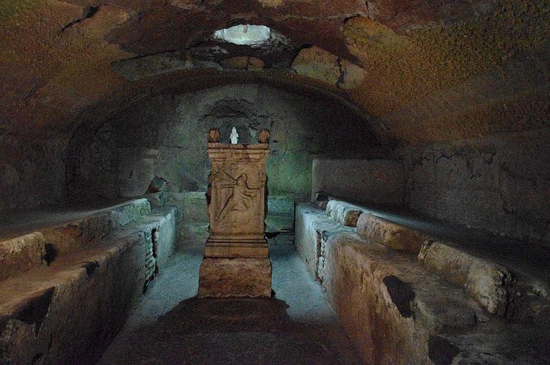 File:Mithraeum San Clemente Rom.JPG