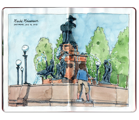Jennifer Appel: Playing in the fountain