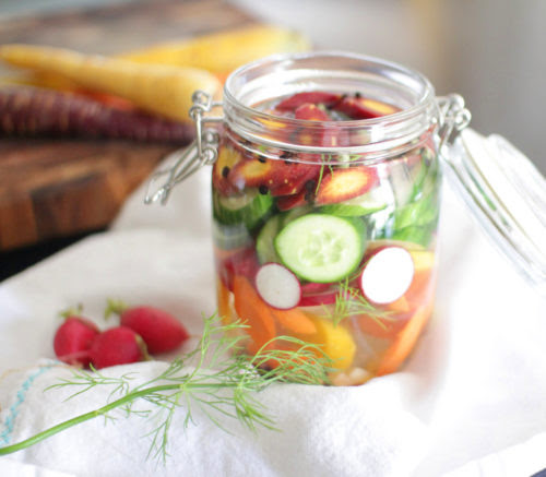 EASY LACTO-FERMENTED VEGGIES :: Suja Juice