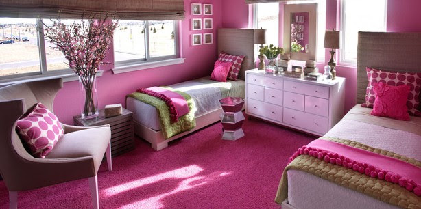 Hot Pink And Black Zebra Bedroom! - Design Dazzle
