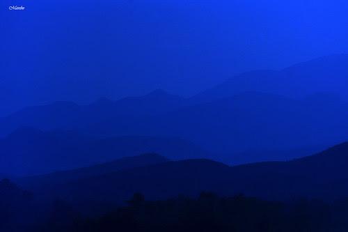 Atardecer Los Andes V región Chile. by Alejandro Bonilla