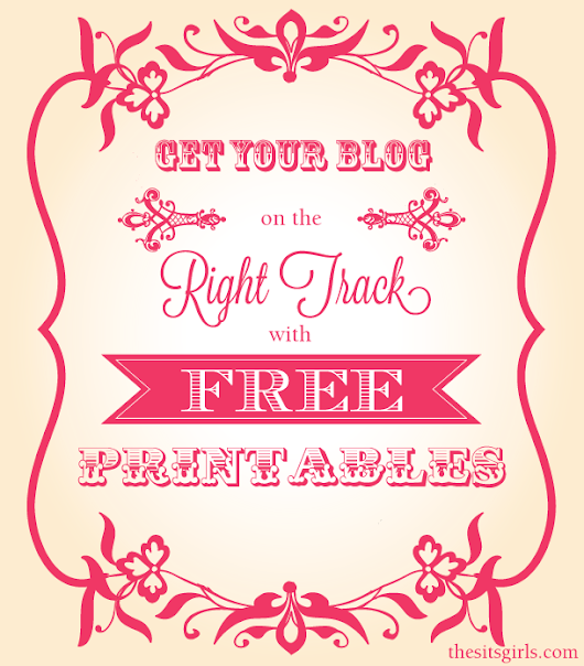 Free Printables for a Blog Notebook | Free Printable Calendars