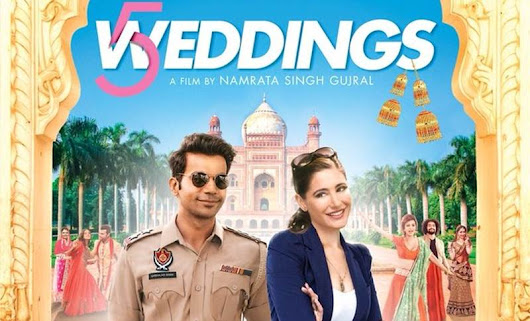 5 Weddings Movie Review | MovieMurga.com