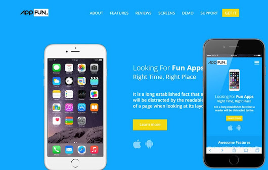 App Fun v2 a Mobile App Landing Flat Bootstrap Responsive Web Template by w3layouts