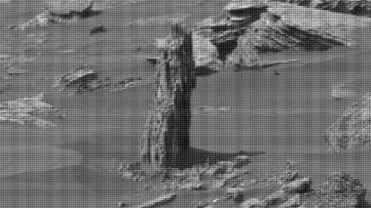 'Ancient tree stump' spotted on Mars?